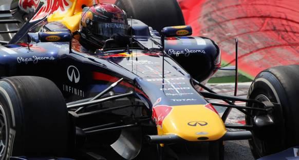 Herşey bahane Vettel Red Bull ile şahane