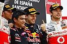 Vettel İspanya'da da kazandı