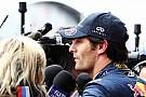 Webber: Sert lastik kararını takım olarak aldık