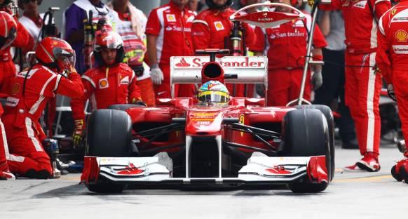 Ferrari değişim için düğmeye bastı