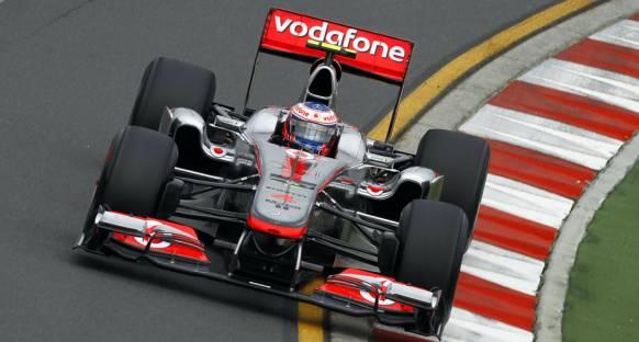 Avustralya Grand Prix Cuma 2. Antrenmanlar - Günün lideri Button