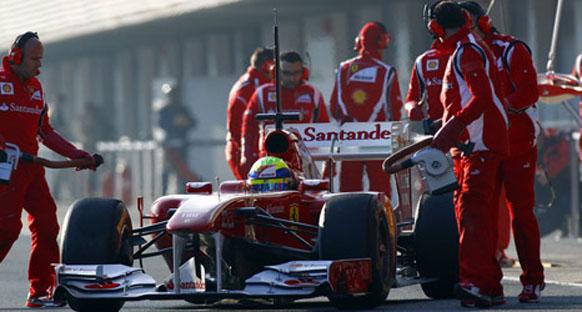 Massa: Ferrari rakiplerine odaklanmıyor