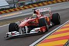 Massa F150 ile ilk sürüşü gerçekleştirdi