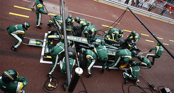 Lotus 10. sırada bitirmek istiyor