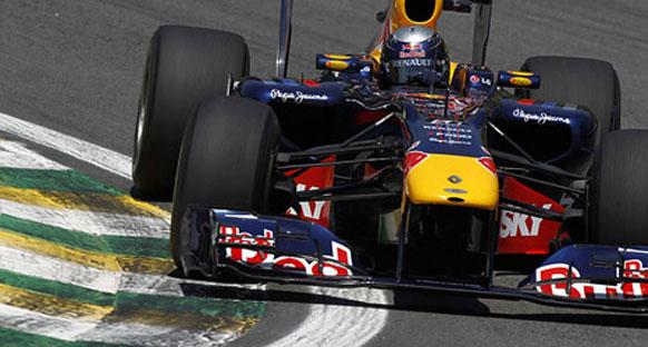 Brezilya Grand Prix 2010 Cuma 2. antrenman turları - Red Bullar çok hılzı