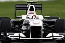 Sauber:Kobayashi'nin atağı biraz iyimserdi