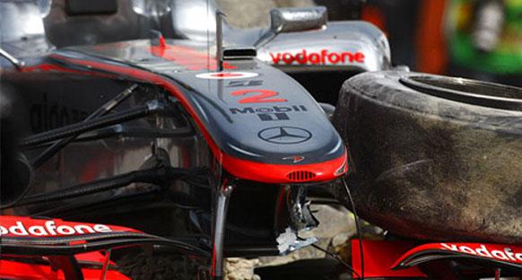 'Tekerlek somunu Vettel'e kaybettirdi, Hamilton hata yaptı'
