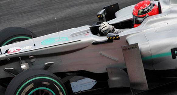 Mercedes Monako'da eski 2010 aracıyla yarışacak