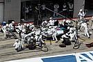 Video: Bottas no creía en la velocidad del equipo Williams en pits