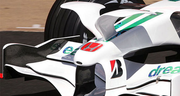Honda 2009'da Button ve Barrichello ile devam edecek