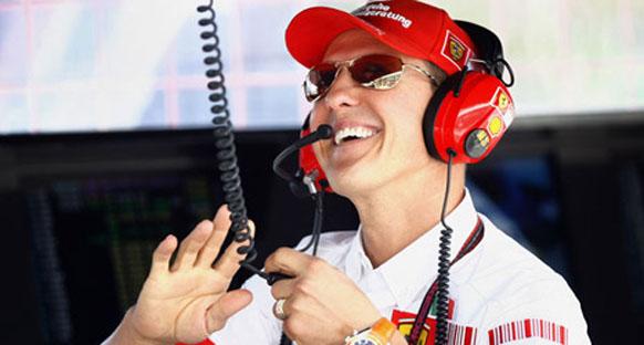 Schumacher 'Şampiyonlar Şampiyonluğu'na hazırlanıyor