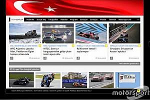 Türkiye - Pist Son dakika Motorsport.com, Türkiye'nin ödül sahibi ve lider motorsporları web sitesi TurkiyeF1.com'u bünyesine katıyor
