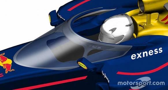Red Bull'un kanopi konsepti 2017'de kullanılabilir