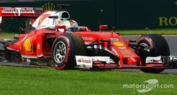 Vettel, bijon arızası nedeniyle ikinci antrenmanları tamamlayamadı