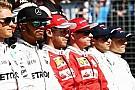 Pilotlar Formula 1'de reform istiyor