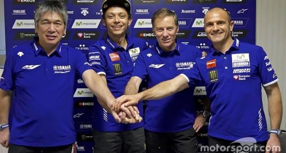 Rossi Yamaha ile olan sözleşmesini 2018 sonuna kadar uzattı