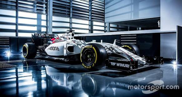Williams 2016 aracının resimlerini paylaştı