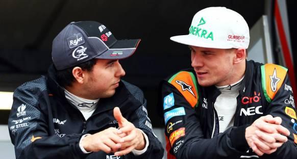 Perez 'Hulkenberg gridin en iyi üç pilotundan biri'