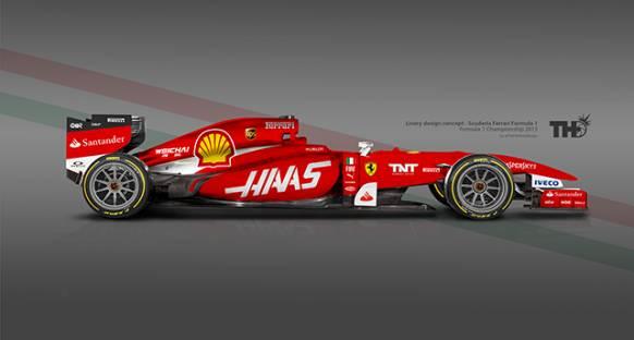 Haas: Şasimiz muhtemelen Ferrari'den daha iyi bir tasarıma sahip olacak