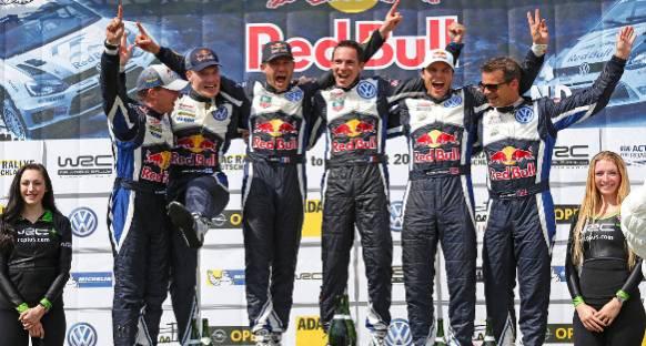 WRC: Ogier'li Volkswagen Almanya'da ilk kez kazandı