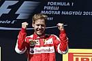 Olayların yarışında kazanan Vettel oldu