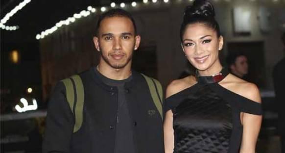 Hamilton ve Scherzinger'in yeniden birlikte oldukları iddia edildi