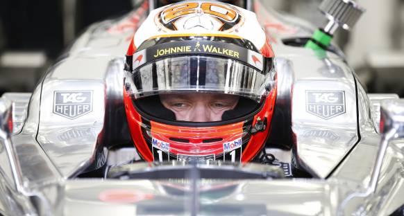 Alonso testlere katılamıyor, Magnussen piste çıkacak