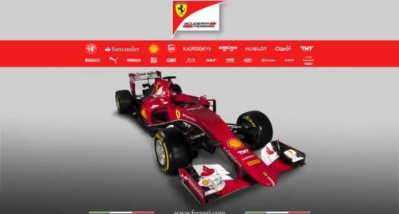 İşte Ferrari'nin yeni aracı SF15-T