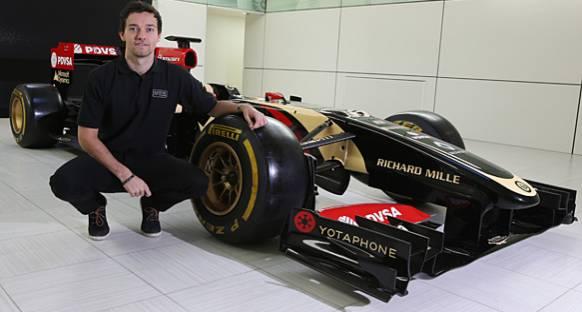 Jolyon Palmer, Lotus'un yedek sürücüsü oldu