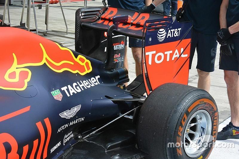Formel-1-Technik: Red Bull optimiert die Aerodynamik für das Rennen in Russland
