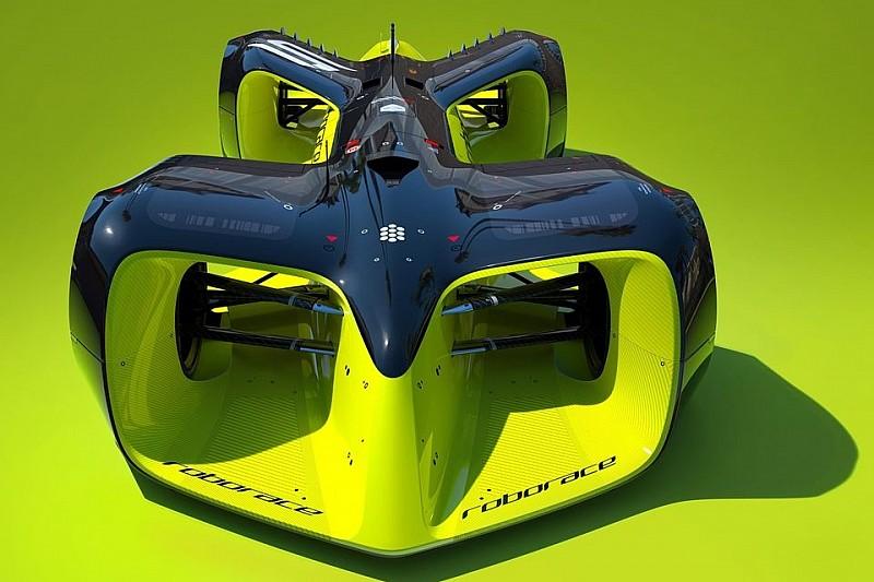 Формула Е представила безпілотний автомобіль Roborace