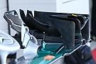 Tech update: Nieuwe endplates op voorvleugel Mercedes