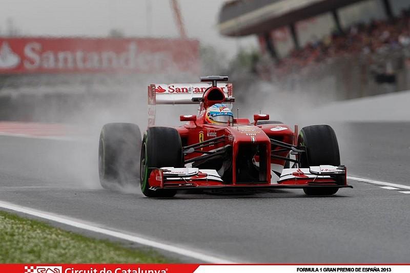 Гран При Испании: первая тренировка