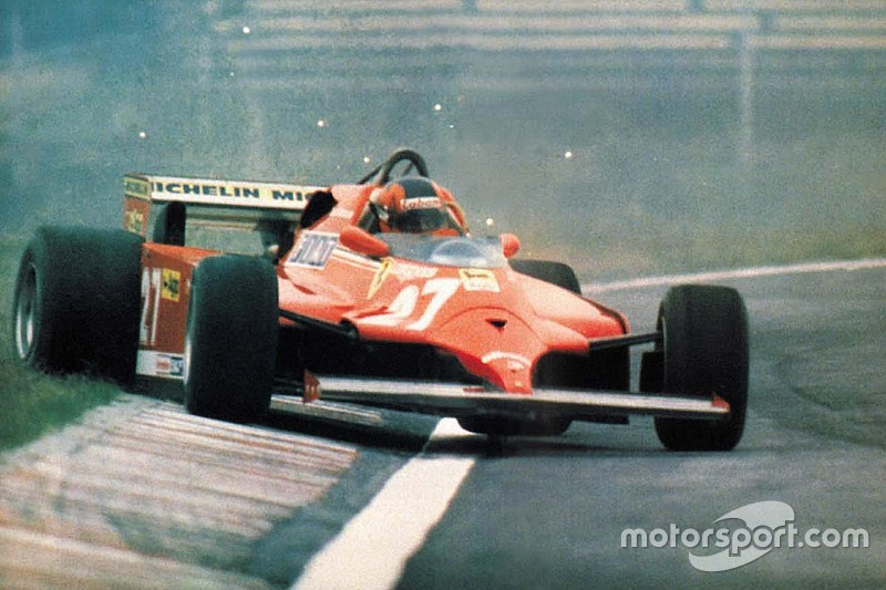 Death of the great Gilles Villeneuve, May 8, 1982