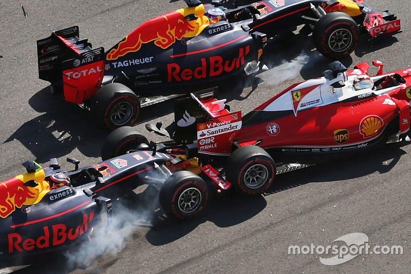 Análisis: El intercambio Kvyat/Verstappen no se debe sólo al GP de Rusia