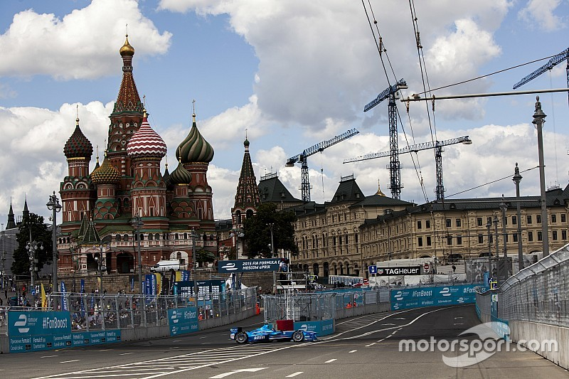 Formel-E-Rennen in Moskau ersatzlos abgesagt