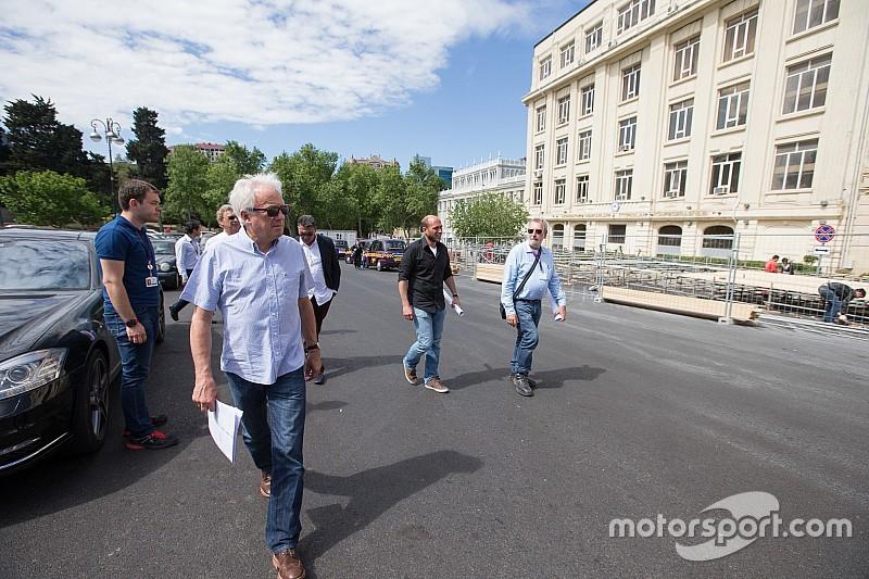 """Whiting: """"Circuit van Baku zal klaar zijn"""""""