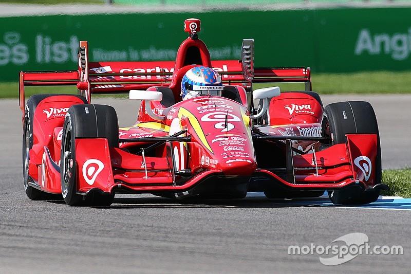Freie Trainings zum Grand Prix von Indianapolis: Scott Dixon mit Tagesbestzeit