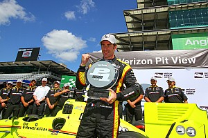 IndyCar Reporte de calificación Pagenaud gana la pole para el GP de Indianápolis