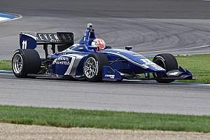 Indy Lights Gara Ed Jones coglie il successo ad Indianapolis