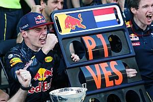 Formule 1 Toplijst Twee jaar geleden - De eerste overwinning van Max Verstappen