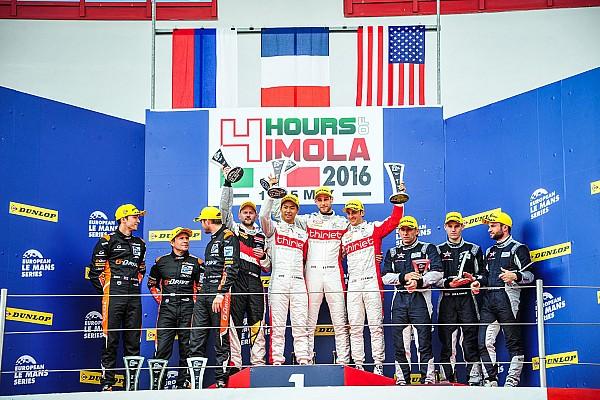 European Le Mans 平川亮がELMS初優勝。中野信治9位:ELMS第2戦イモラ