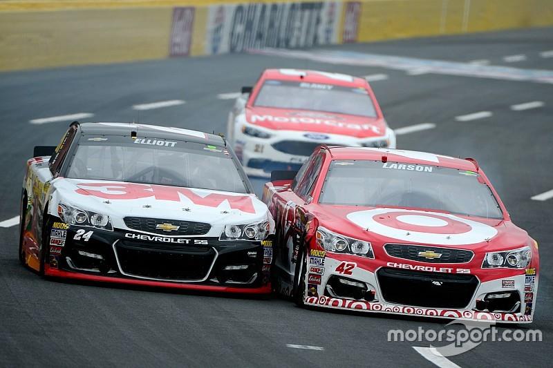 Sprint-Showdown: Fotofinish Kyle Larson vs. Chase Elliott