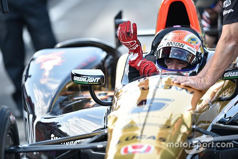 Hinchcliffe op pole voor 100ste Indy 500