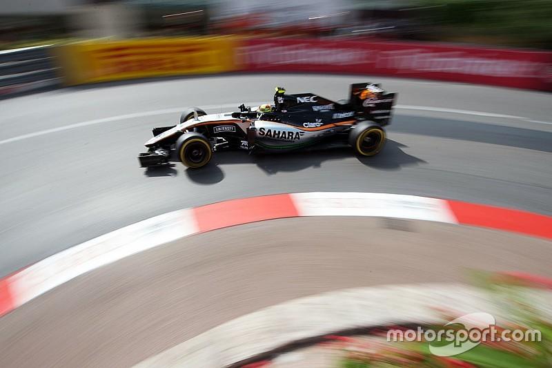Sergio Pérez y Force India apuntan a la clasificación