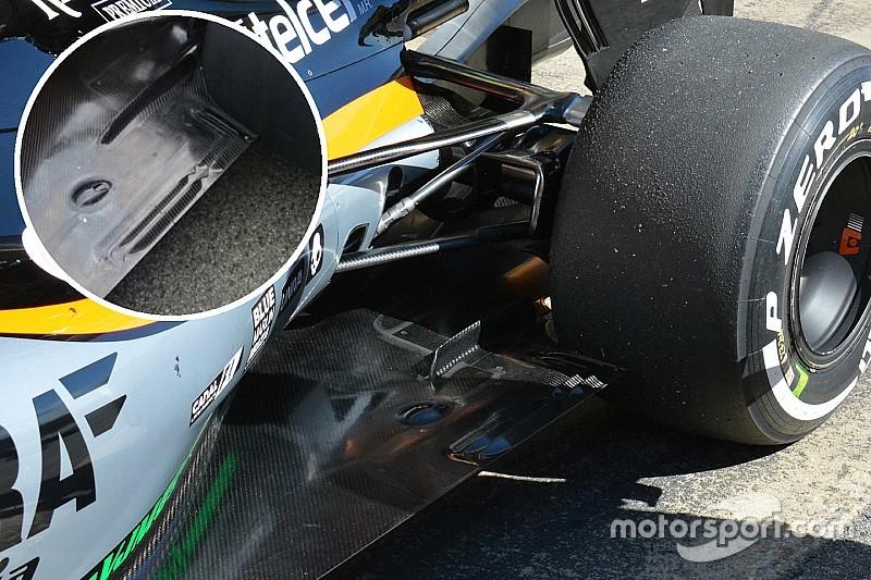 技术短文:印度力量VJM09赛车底板