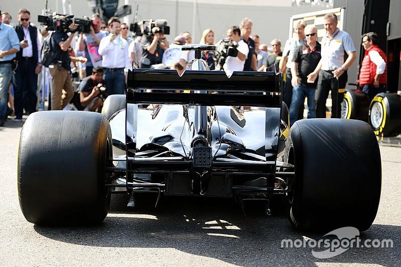 Erster Blick auf neue Pirelli-Reifen für die Formel 1 2017