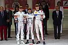 松下信治GP2モナコのレース2で優勝。モンテカルロに君が代が流れる