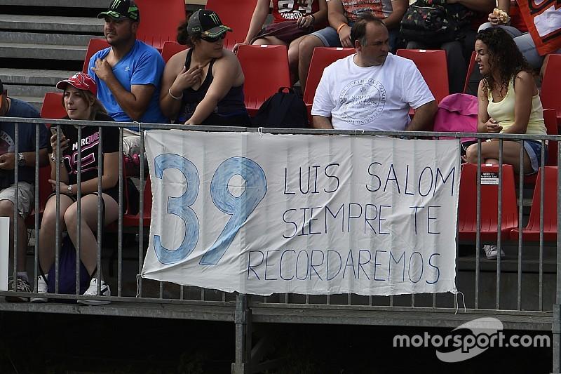 Zegen familie Salom voorkomt afblazen Catalaanse GP