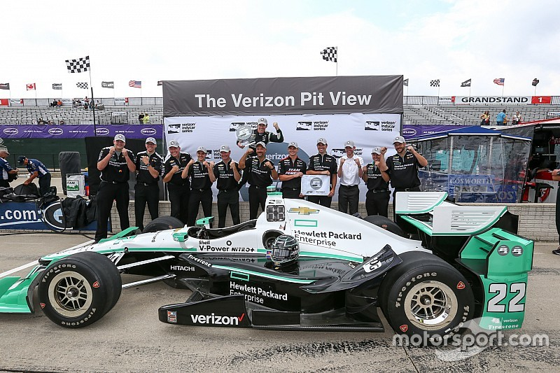 Pagenaud in pole in gara 2 a Detroit grazie alla penalità di Power
